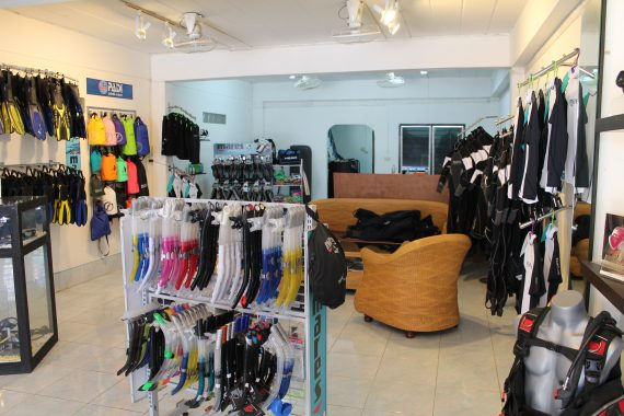 koh lanta dive shop