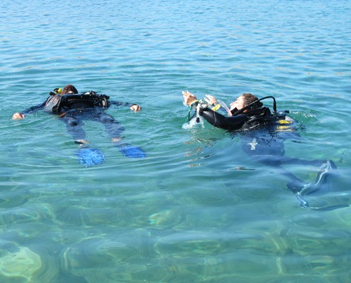 rescue diver skill koh lanta