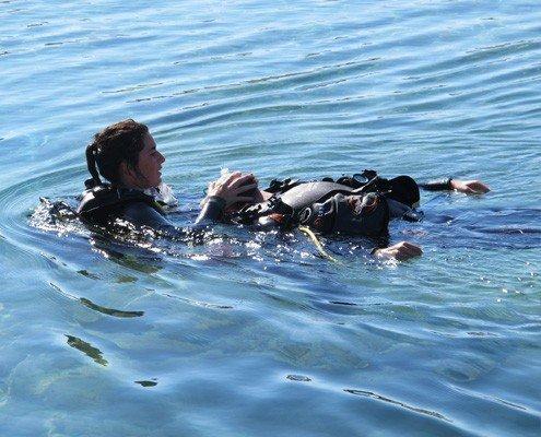 rescue diver course ocean koh lanta