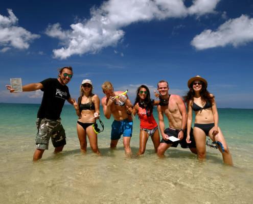 PADI divemaster Diving Pro Thailand