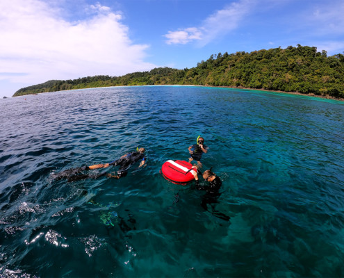freediving instructor course in Thailand