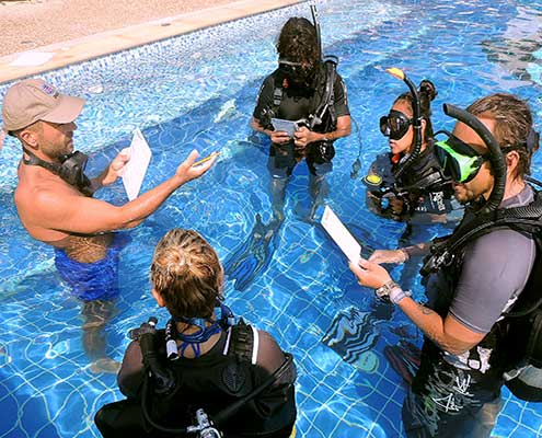 diving instructor course in koh lanta thailand