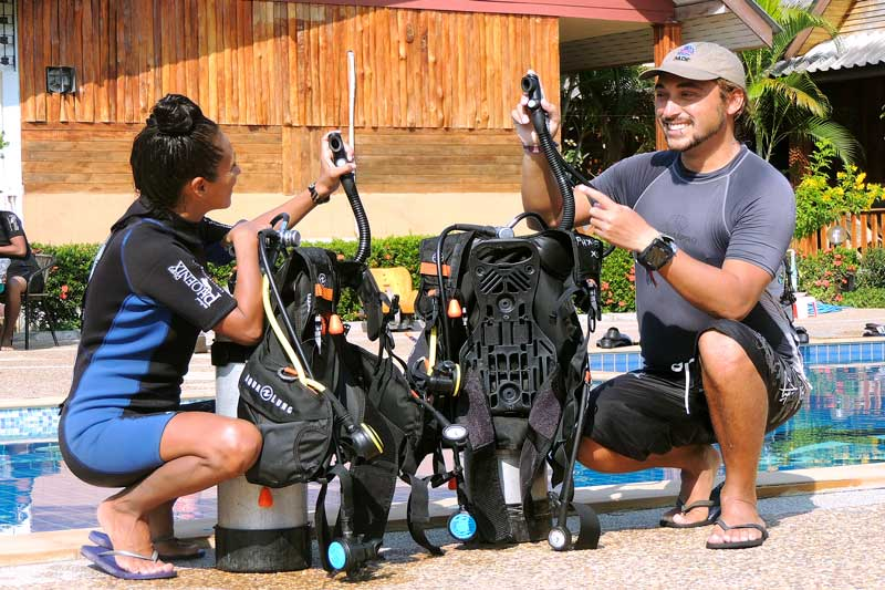scuba diving courses thailand