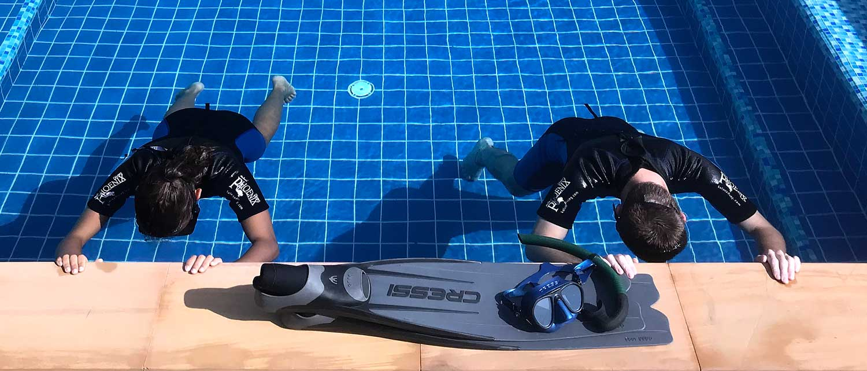 static level one freedive lanta